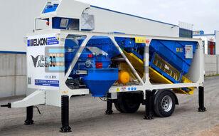 ماكينة صناعة الخرسانة ELKON Mobile concrete batching plant ELEVATOR KONVEYOR ELCON MIX MASTE