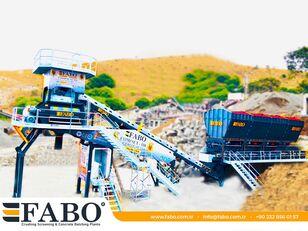 جديد ماكينة صناعة الخرسانة FABO  COMPACT-110 CONCRETE PLANT   CONVEYOR TYPE