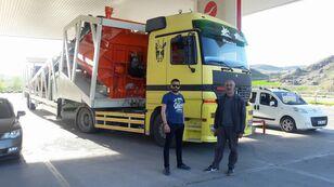جديد ماكينة صناعة الخرسانة Plusmix PLUSMİX ST120-TWN Double Chassis -:120m³/hour  Mobile Concrete P