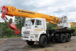 جديد شاحنة رافعة Ivanovets KS-47171K-3R ذات شاسيه Ivanovets КС-47171К-3Р на шасси КАМАЗ-43118