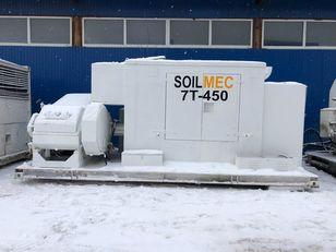 مضخة الخرسانة الثابتة SOILMEC 7T-450